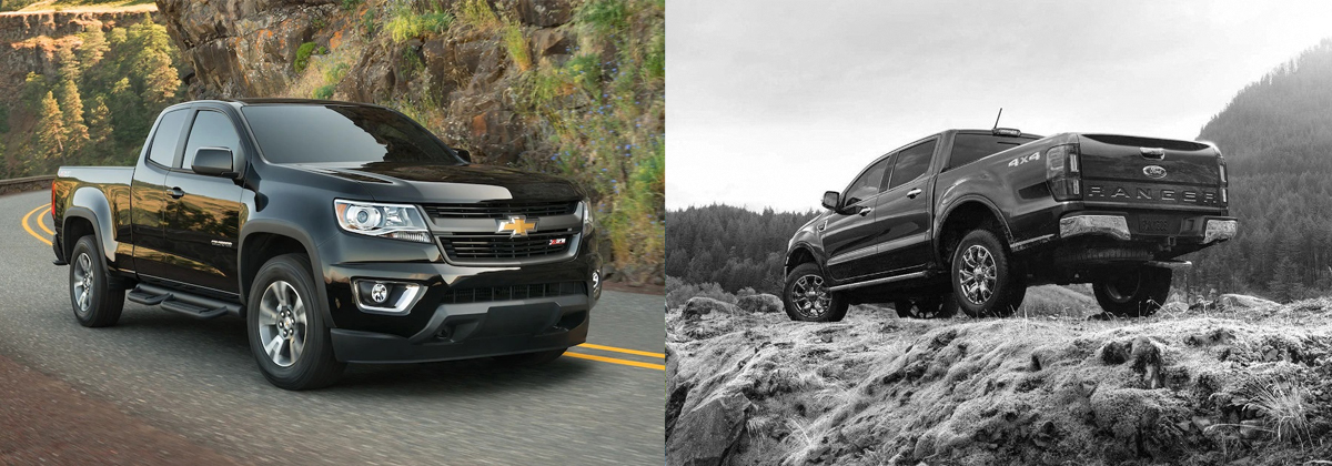 2019 Chevrolet Colorado vs 2019 Ford Ranger - Greensboro NC