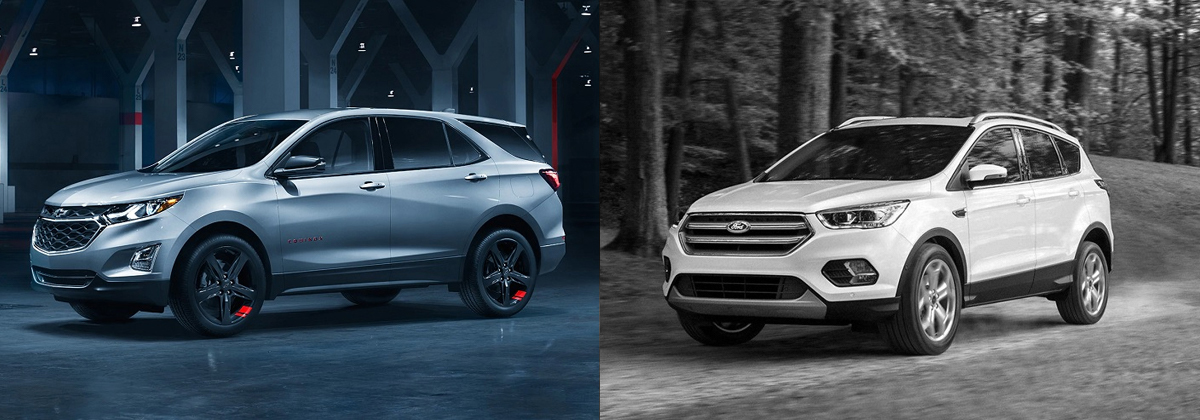 2019 Chevrolet Equinox vs 2019 Ford Escape - Greensboro NC