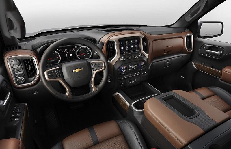 Greensboro NC - 2019 Chevrolet Silverado's Interior
