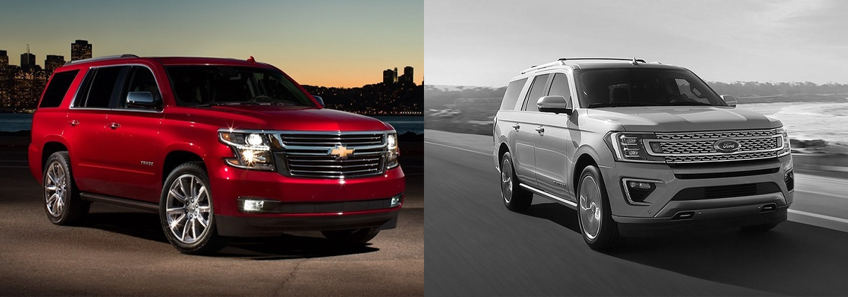 2019 Chevrolet Tahoe vs 2019 Ford Expedition - Greensboro NC
