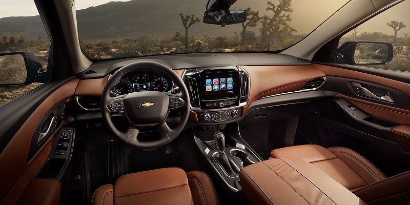 Greensboro NC - 2019 Chevrolet Traverse Interior