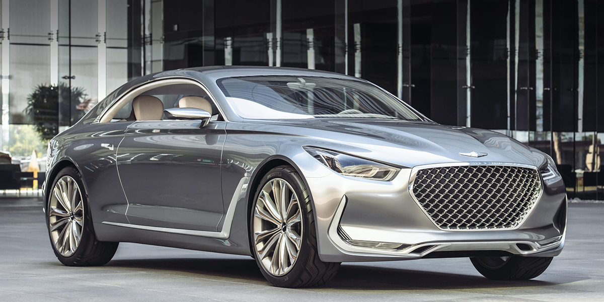 Charlotte NC - Future Genesis Vehicles - Vision G Concept