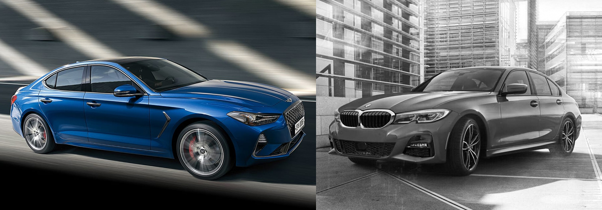Compare 2019 Genesis G70 vs 2019 BMW 3-Series