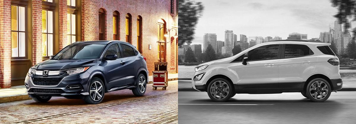 Why 2019 Honda HR-V vs 2019 Ford EcoSport - Brooklyn NY