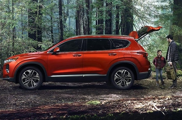2019 Hyundai Santa Fe Lease and Specials in Matthews North Carolina