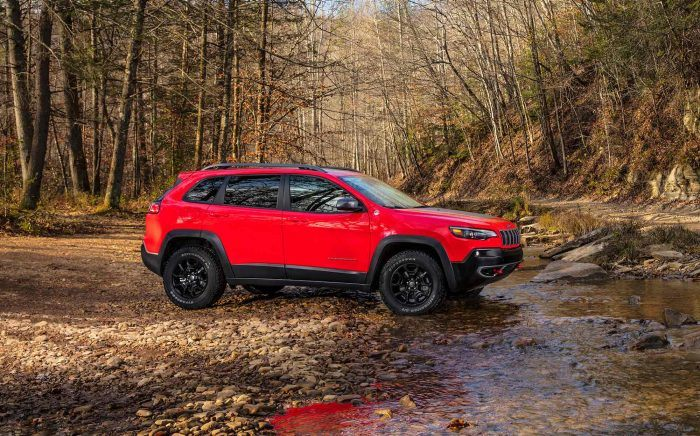New York City - 2019 Jeep Cherokee's Exterior