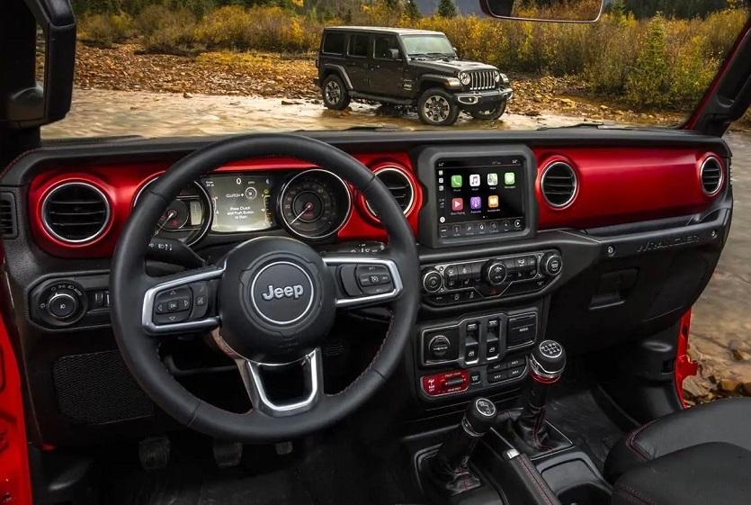 Jericho NY - 2019 Jeep Wrangler's Interior