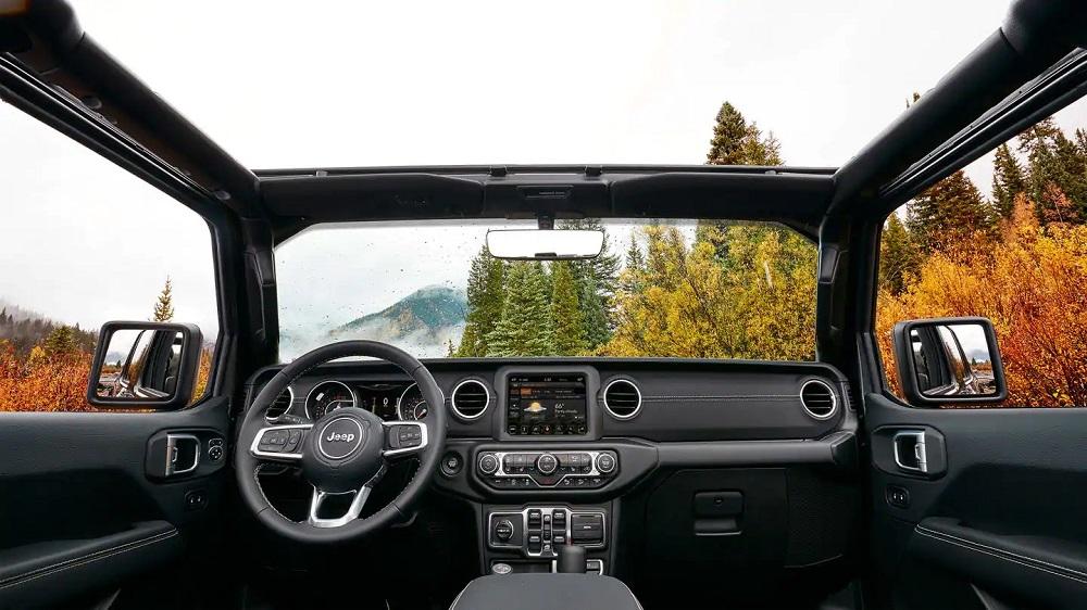 New York City - 2019 Jeep Wrangler's Interior