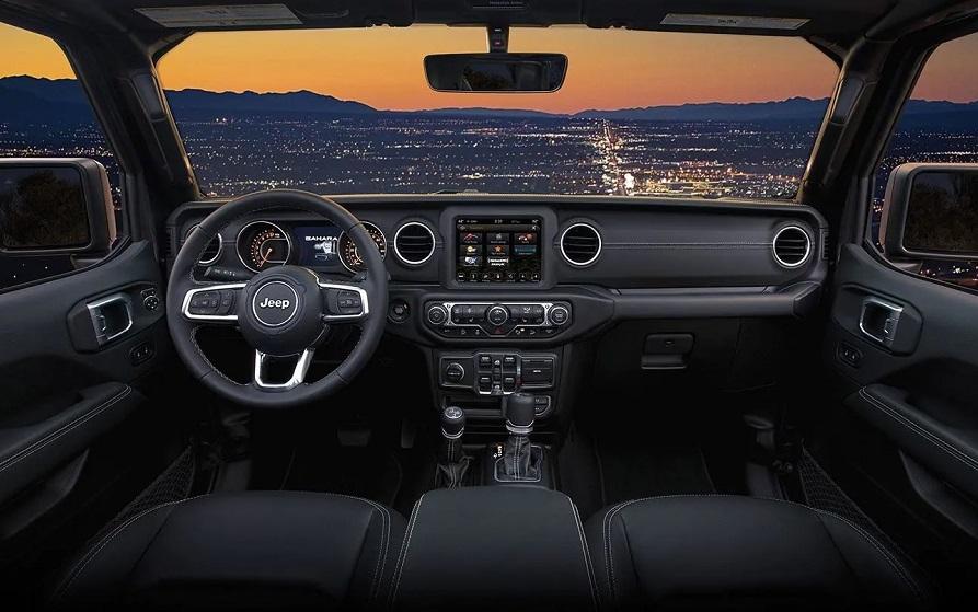 Massapequa NY - 2019 Jeep Wrangler's Interior