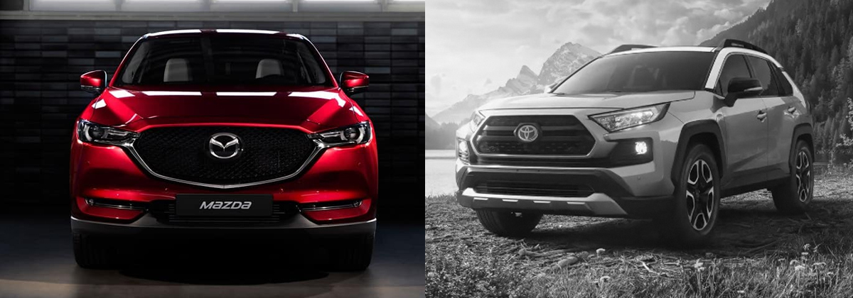 Why 2019 Mazda CX-5 vs 2019 Toyota RAV4 - Huntersville NC
