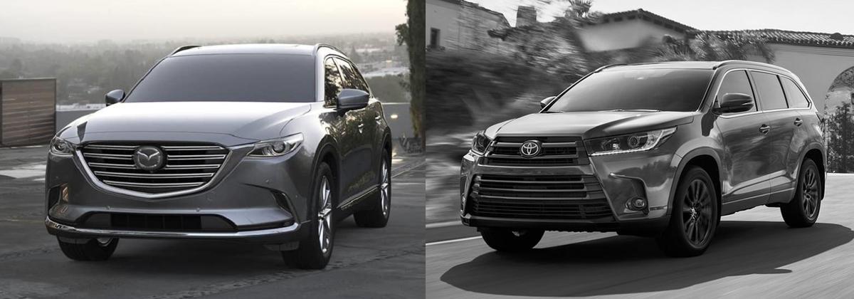 Why 2019 Mazda CX-9 vs 2019 Toyota Highlander - Huntersville NC