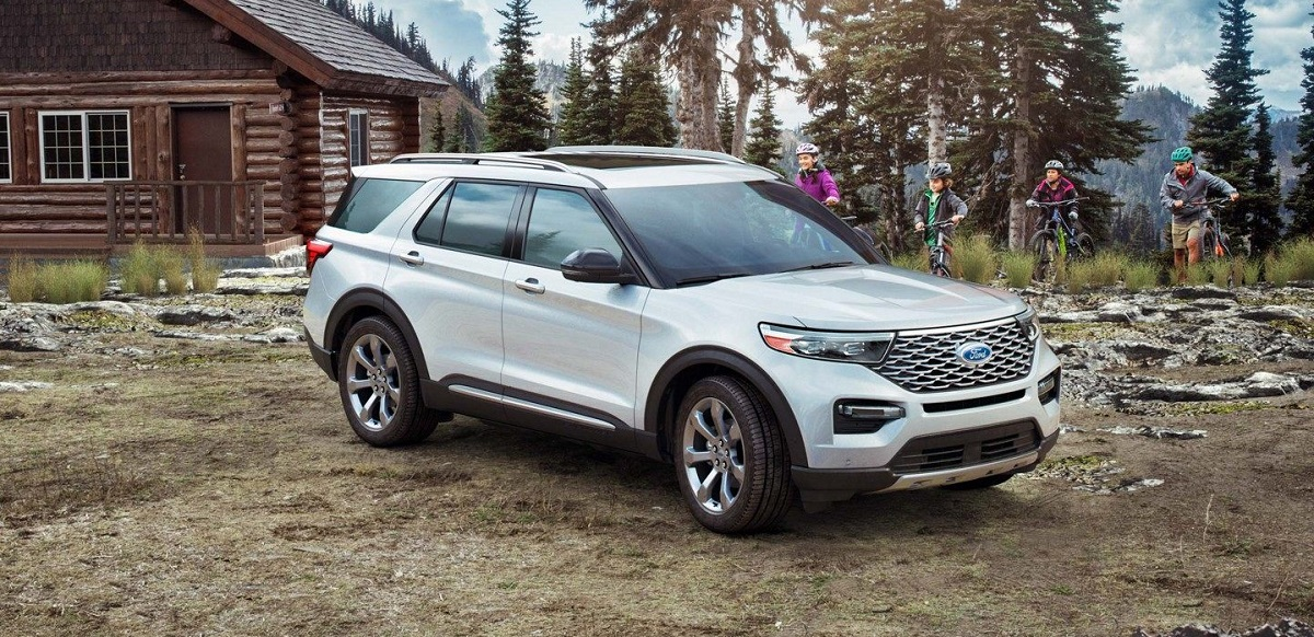 Take home a 2020 Ford Explorer near New Haven CT