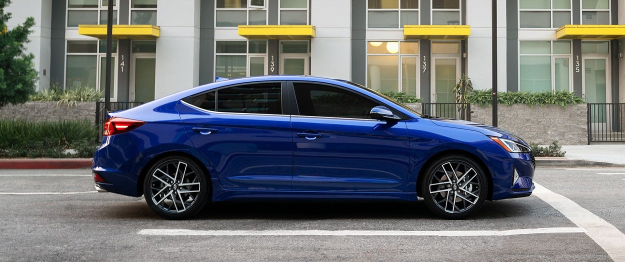 The 2020 Hyundai Elantra in Centereach reflects the culmination of its evolution
