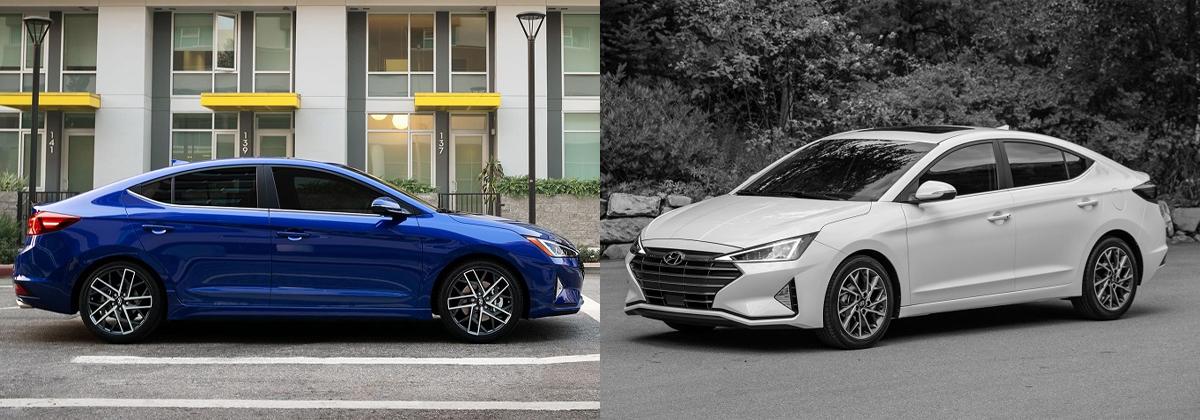 Research 2020 vs 2019 Hyundai Elantra on Long Island NY