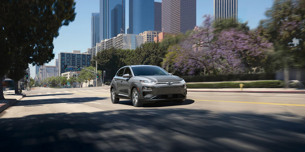 Research 2020 Hyundai KONA Electric near Charlotte NC