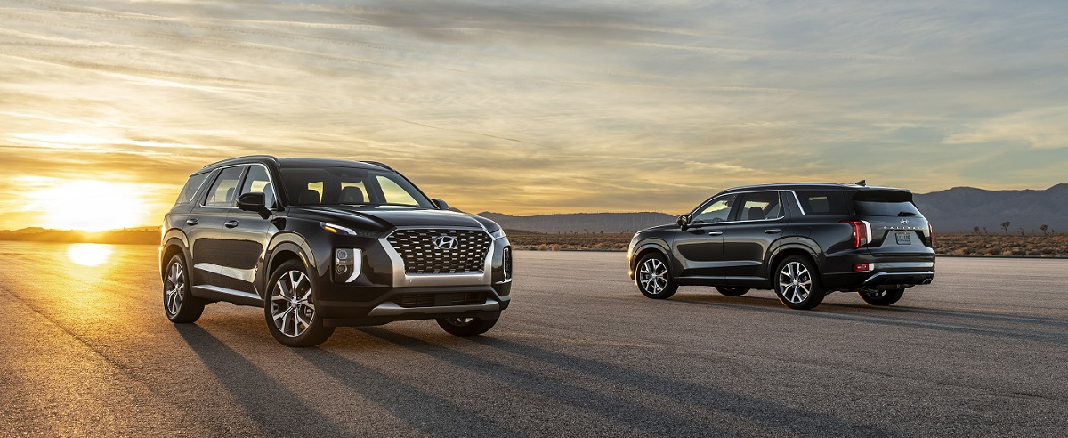 What are the different 2020 Hyundai Palisade Trim Levels