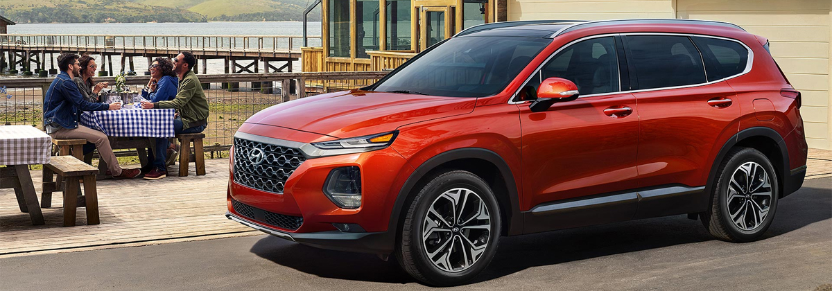 2020 Hyundai Santa Fe Lease and Specials in Matthews NC