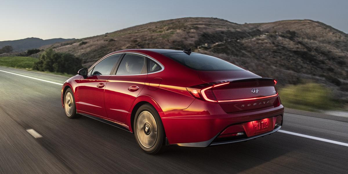 Long Island NY - 2020 Hyundai Sonata Hybrid's Exterior