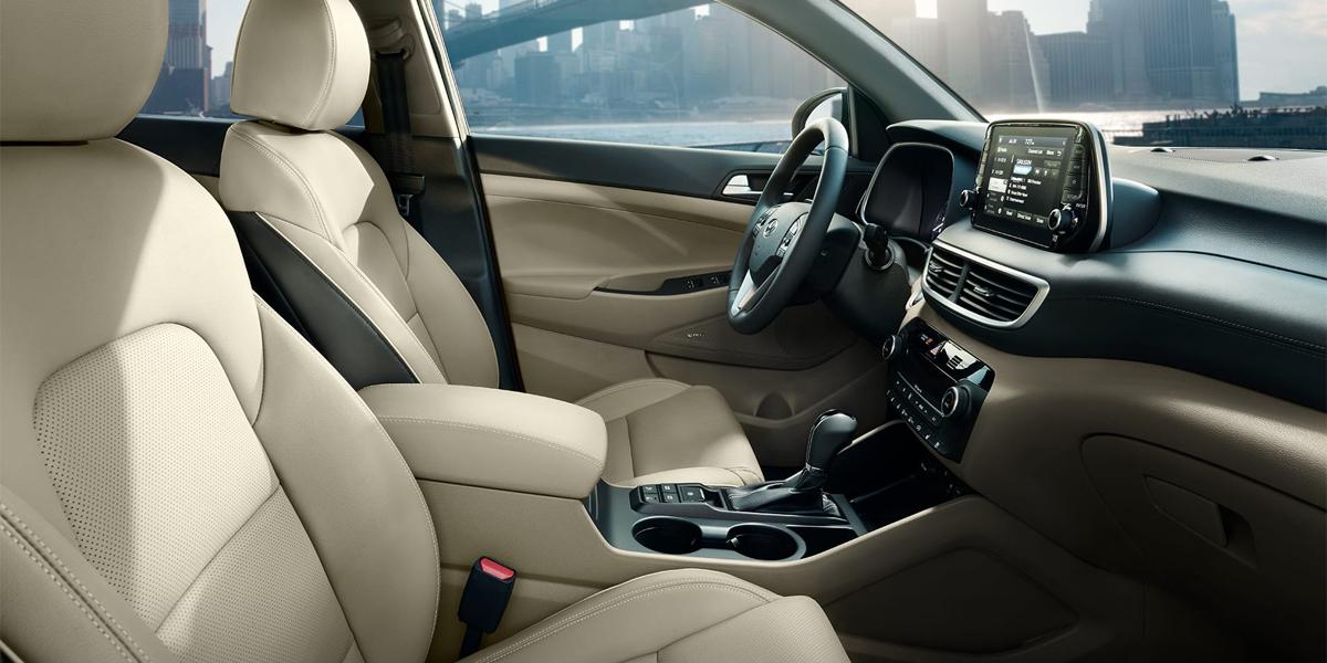 Centereach NY - 2020 Hyundai Tucson's Interior