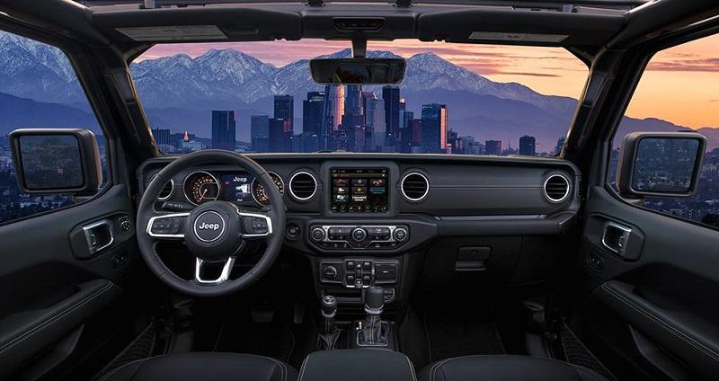 Long Island NY - 2020 Jeep Gladiator's Interior