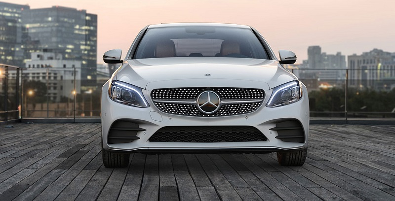 Research trim levels on a 2020 Mercedes-Benz C-Class sedan near Dalton Georgia