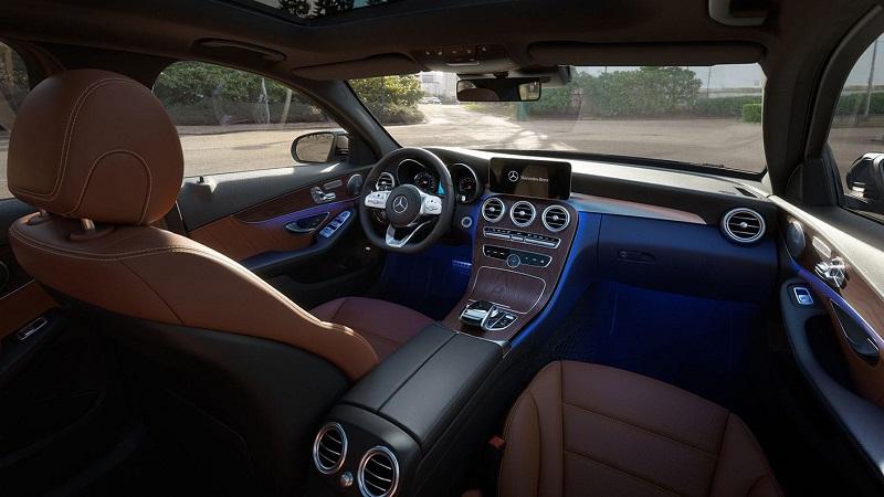 Chattanooga TN - 2020 Mercedes-Benz C-Class Sedan's Interior