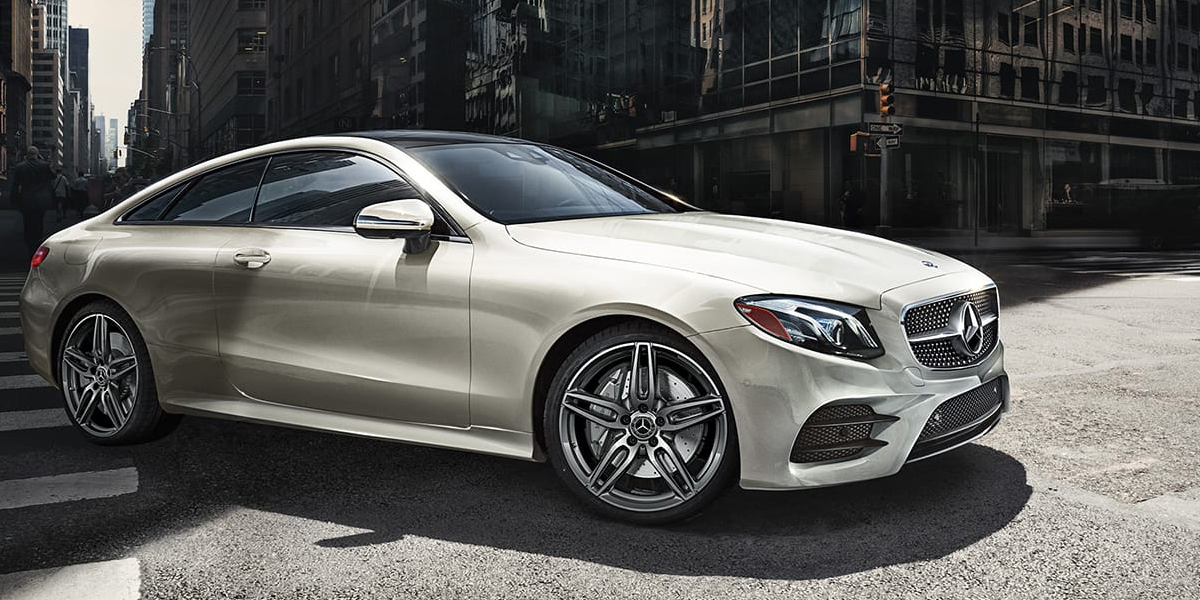 Research trim levels on a 2020 Mercedes-Benz E-Class near Gadsden AL
