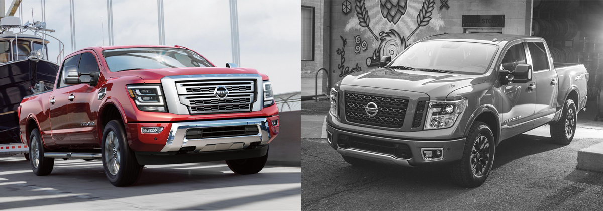 Whats New 2020 vs 2019 Nissan Titan in Leesburg FL