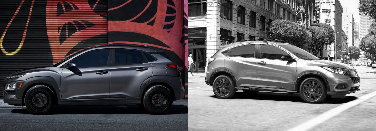 2021 Hyundai Kona Vs 2021 Honda HR-V near Newark NJ