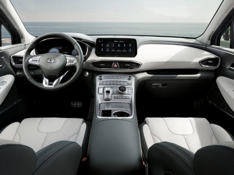 Long Island NY - 2021 Hyundai Santa Fe's Interior