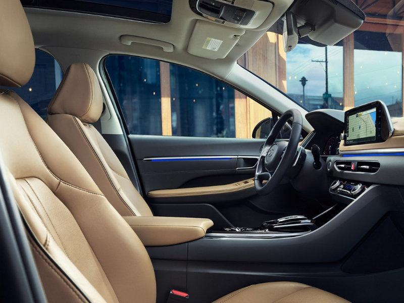 Riverhead NY - 2021 Hyundai Sonata's Interior