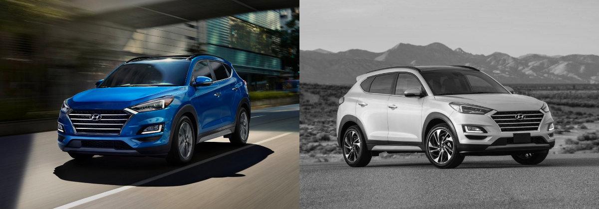 2021 Hyundai Tucson vs 2020 Hyundai Tucson on Long Island NY