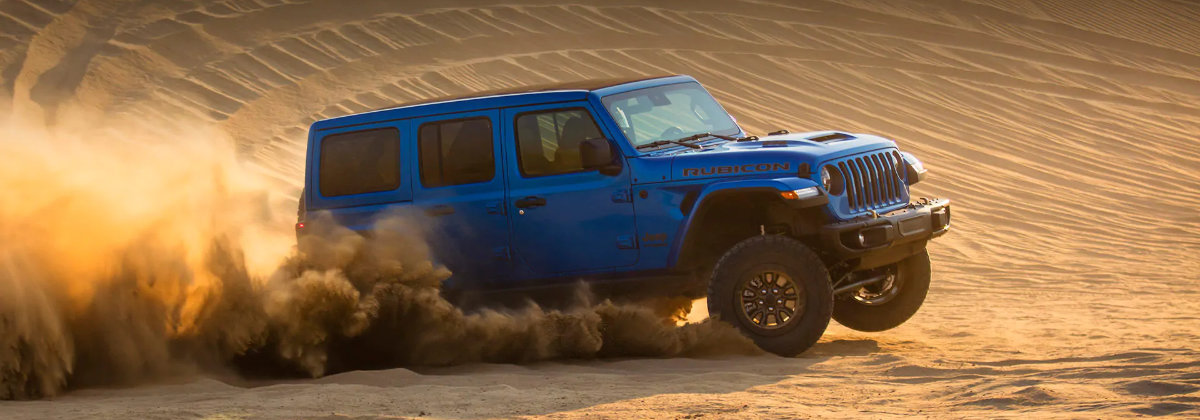 A 2021 Jeep Wrangler Rubicon 392 is full of new features in Fort Myers FL