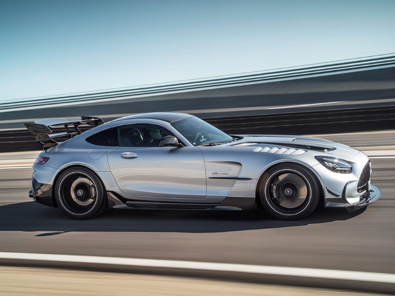 The 2021 Mercedes-AMG GT Black Series promises driving excitement near Dalton GA