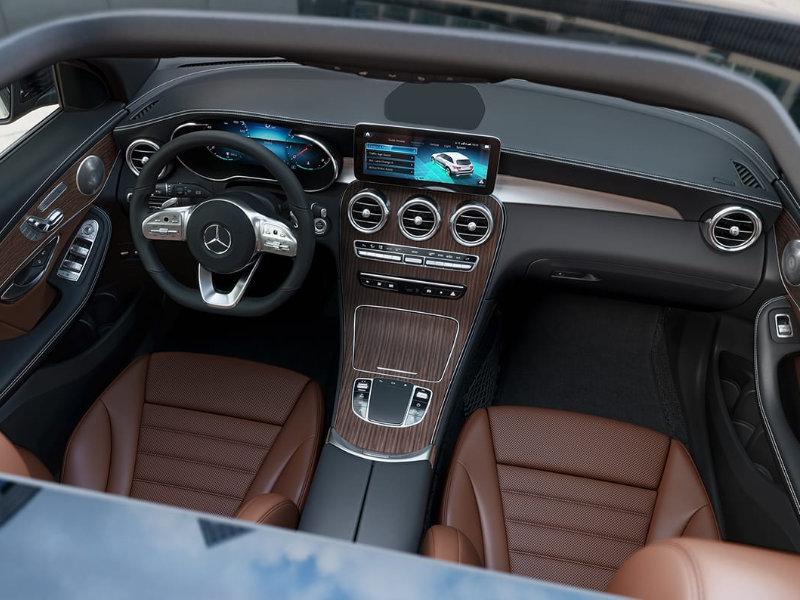 Chattanooga TN - 2021 Mercedes-Benz GLC 300's Interior