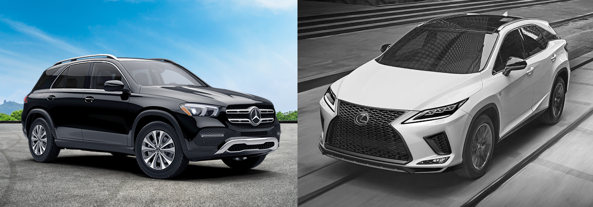 2021 Mercedes-Benz GLE vs 2021 Lexus RX - Mercedes-Benz at Long of Chattanooga