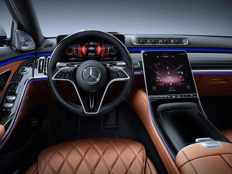 Chattanooga TN - 2021 Mercedes-Benz S-Class's Interior
