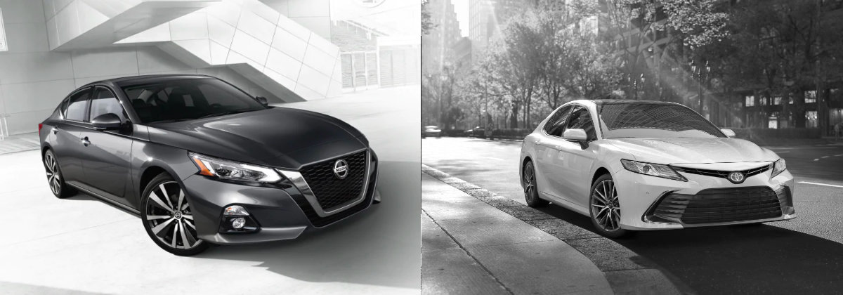 2021 Nissan Altima vs 2021 Toyota Camry in Lumberton NC