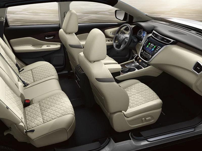 Lumberton NC - 2021 Nissan Murano's Interior