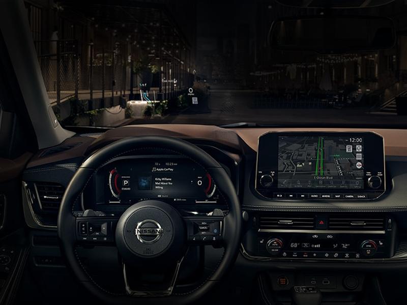 Lumberton NC - 2021 Nissan Rogue's Interior
