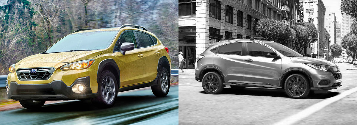 2021 Subaru Crosstrek vs 2021 Honda HR-V on Long Island