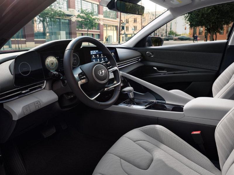 A 2022 Hyundai Elantra is rich in luxury near Monroe NC