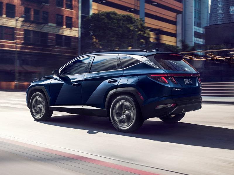 Long Island NY - 2022 Hyundai Tucson Hybrid's Exterior