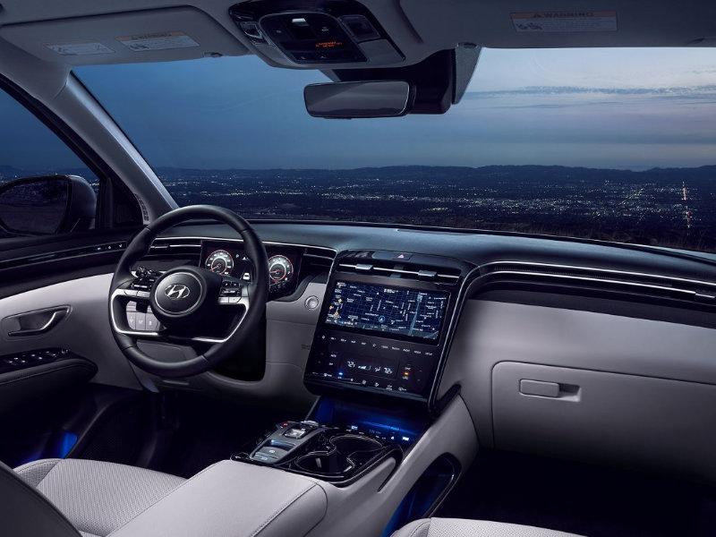 Long Island NY - 2022 Hyundai Tucson Hybrid's Interior