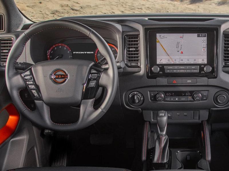 Lumberton NC - 2022 Nissan Frontier's Interior