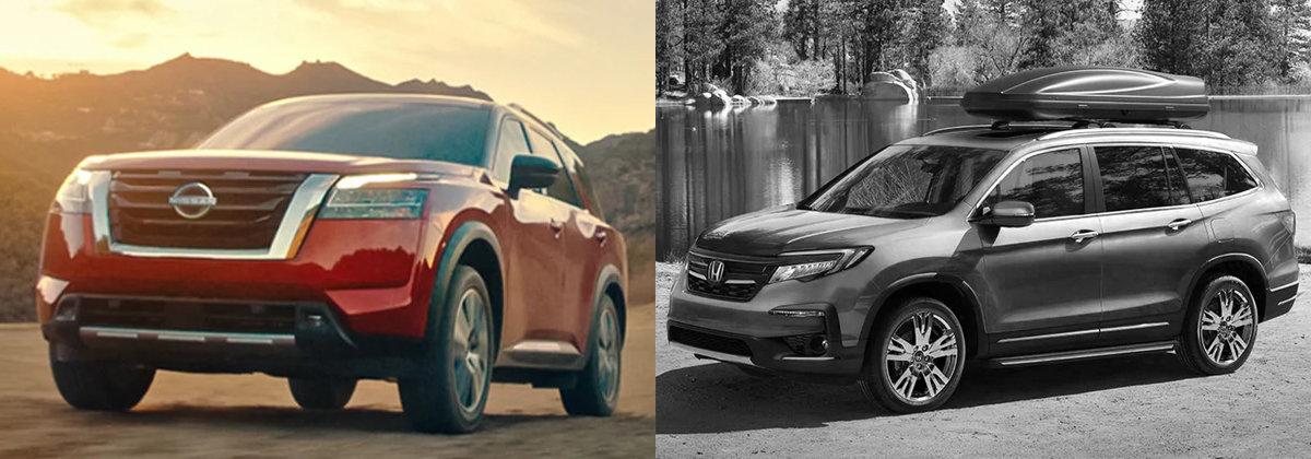 Presenting 2022 Nissan Pathfinder vs 2021 Honda Accord near Whiteville NC