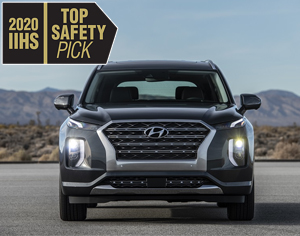 2020 PALISADE named 2020 IIHS Top Safety Pick