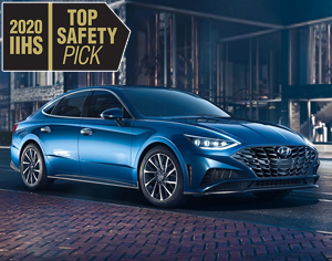 2020 SONATA named 2020 IIHS Top Safety Pick