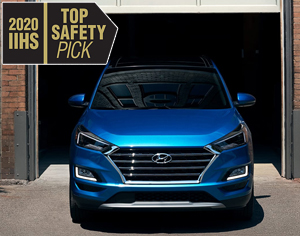 2020 TUCSON named 2020 IIHS Top Safety Pick